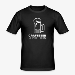 Craftbeer Revolution - Männer Slim Fit T-Shirt