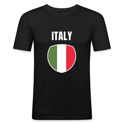 Pays Italie - T-shirt près du corps Homme