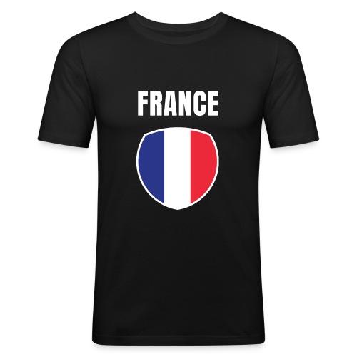 Pays France - T-shirt près du corps Homme