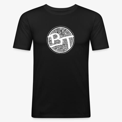 BT pallo - Miesten tyköistuva t-paita