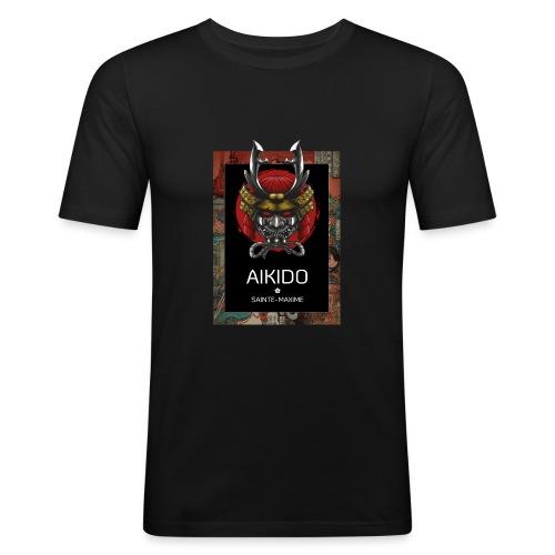aikido sainte-maxime - T-shirt près du corps Homme