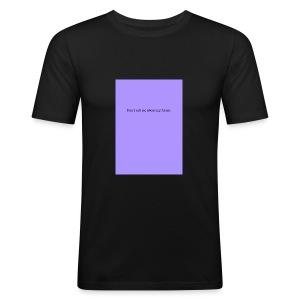 NO FUTURE - Tee shirt près du corps Homme