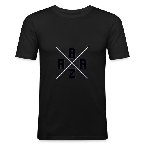 Brizzer Standart - Männer Slim Fit T-Shirt