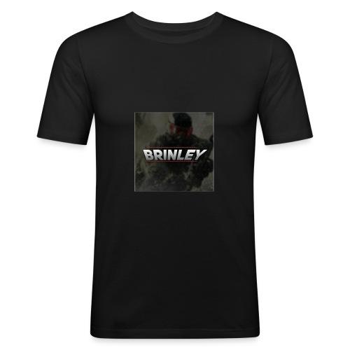 HypersonicBrinleyLogo - Men's Slim Fit T-Shirt