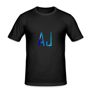 AJ No Background - Men's Slim Fit T-Shirt