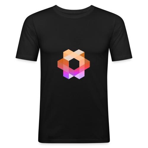 Minoko Bunt - Männer Slim Fit T-Shirt