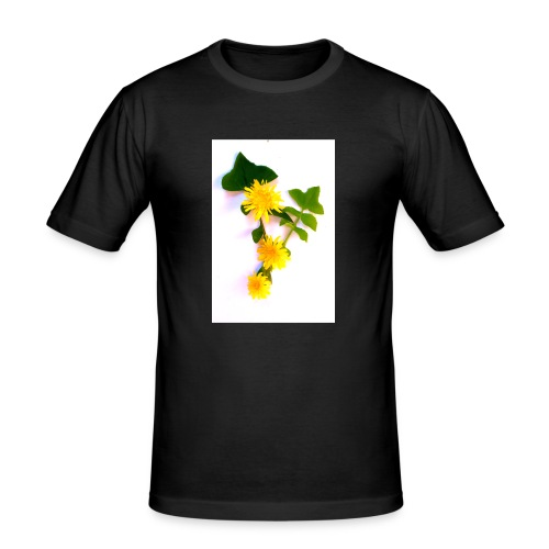 Margaritas 3d by The Cat Project - Camiseta ajustada hombre