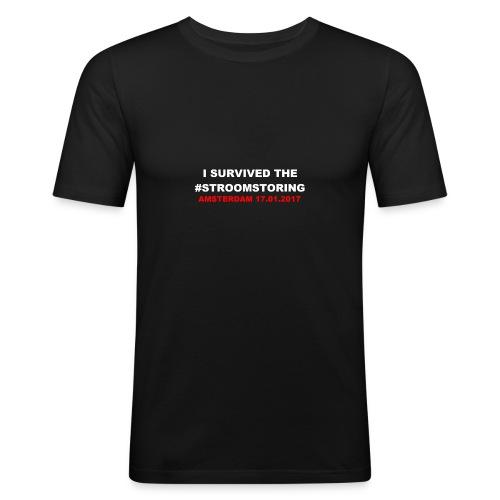 I SURVIVED THE #STROOMSTORING - slim fit T-shirt