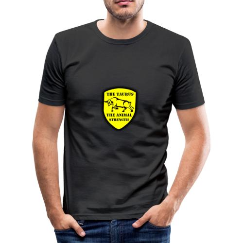 design 2 - T-shirt près du corps Homme