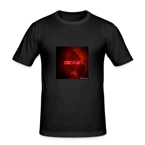 Al-Mex TV - Männer Slim Fit T-Shirt