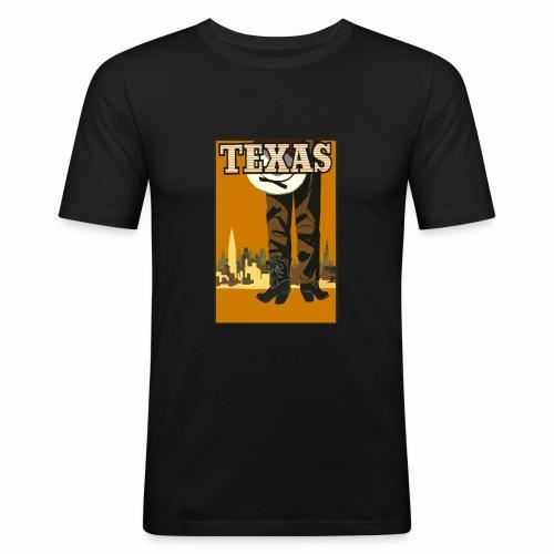 Texas - Männer Slim Fit T-Shirt