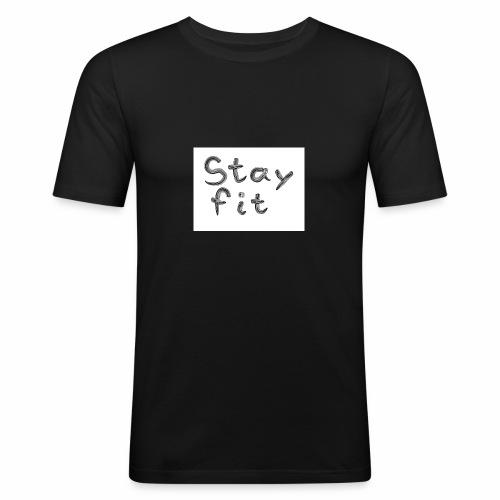 Stay Fit - Männer Slim Fit T-Shirt