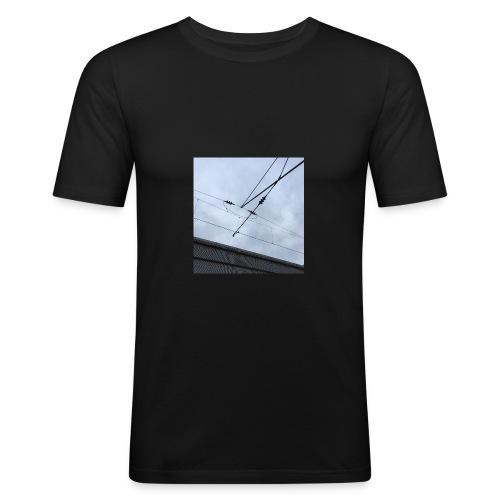sky - Männer Slim Fit T-Shirt