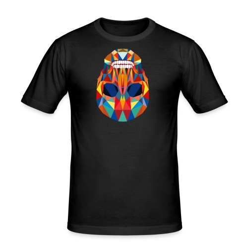 LA CALAVERA - Männer Slim Fit T-Shirt