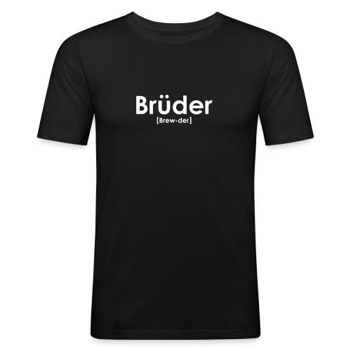 Brüder IPA - Men's Slim Fit T-Shirt