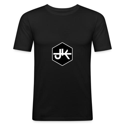 jk logo amk - Männer Slim Fit T-Shirt