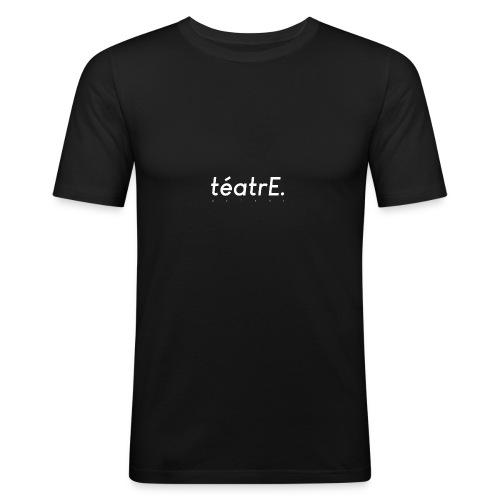 logo classique blanc - T-shirt près du corps Homme
