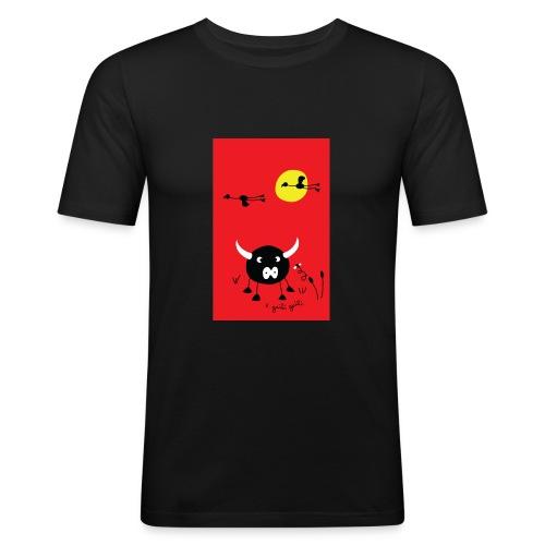 rouge camargue - T-shirt près du corps Homme
