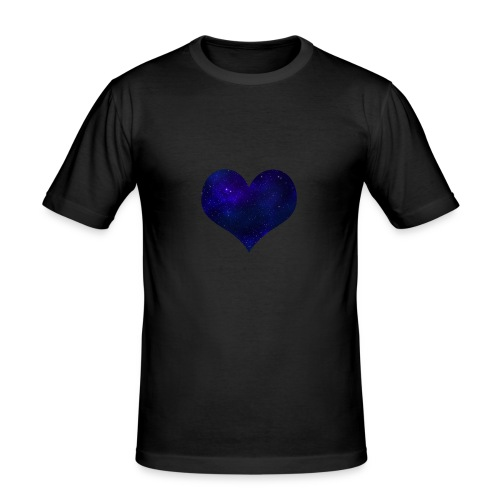 Love from outer space - Men's Slim Fit T-Shirt