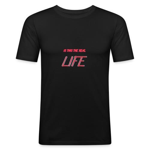 reallife - T-shirt près du corps Homme