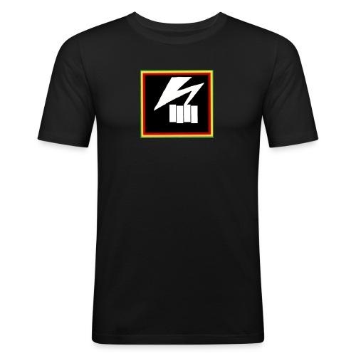 bad flag - Men's Slim Fit T-Shirt