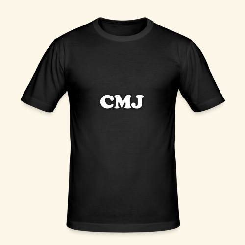 CMJ white merch - Men's Slim Fit T-Shirt