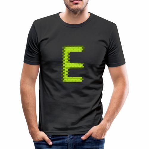 Elytroid logga - Slim Fit T-shirt herr