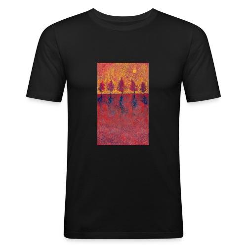 Yet A Bit Light - Obcisła koszulka męska