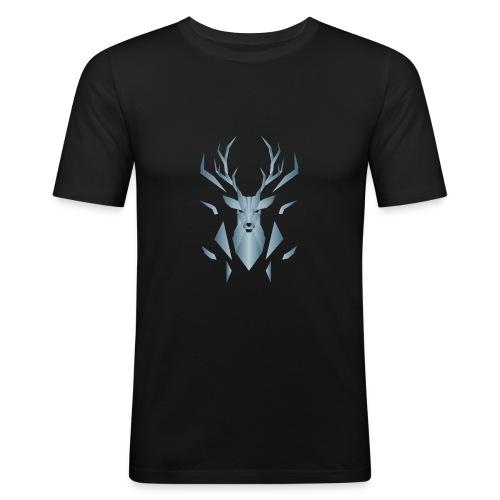 Cervo - Maglietta aderente da uomo