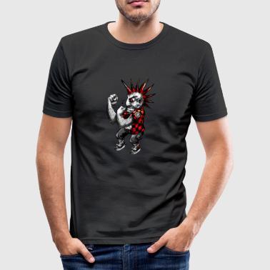 Combattere Punk - Maglietta aderente da uomo