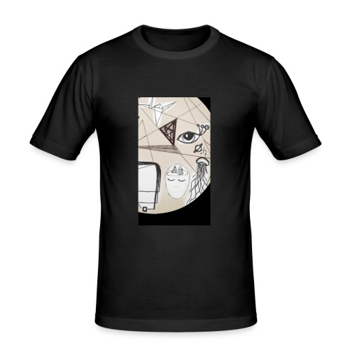 Techno - Männer Slim Fit T-Shirt