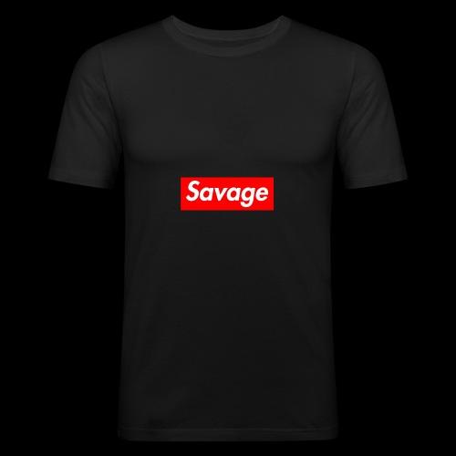 SavageDamian - slim fit T-shirt