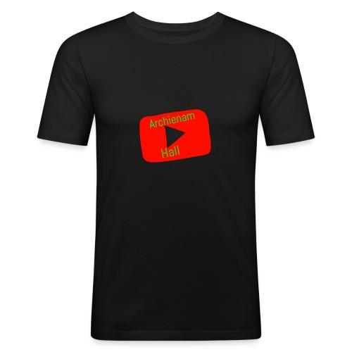 Archienam logo - Men's Slim Fit T-Shirt