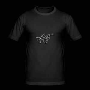 AG logo - Men's Slim Fit T-Shirt