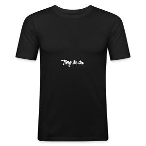 tung--ru - Slim Fit T-shirt herr