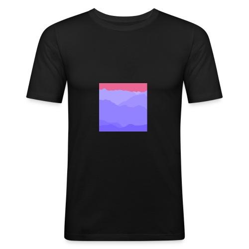 mountain four - Männer Slim Fit T-Shirt