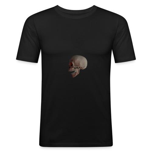 Teschio - Maglietta aderente da uomo