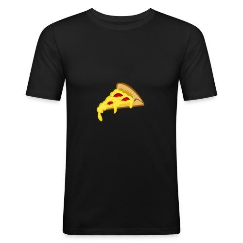 If it fits my macros Pizza - slim fit T-shirt
