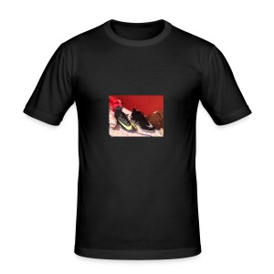 Footy boots - Men's Slim Fit T-Shirt
