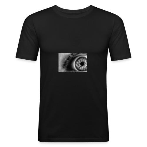 FP-76 Occhio - Maglietta aderente da uomo