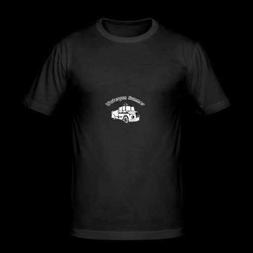 Watergun Summer - Männer Slim Fit T-Shirt