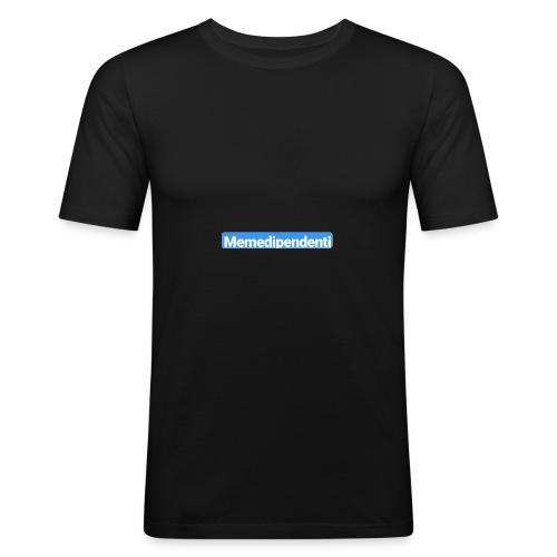 Meme Dipendenti (Blue Edition) - Maglietta aderente da uomo