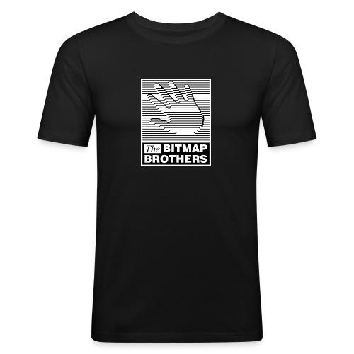 Chest Logo - Men's Slim Fit T-Shirt