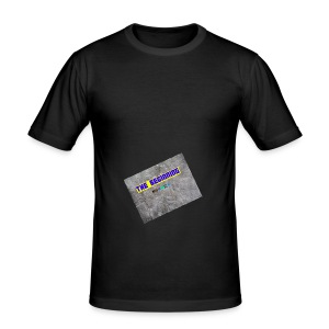 The Beginning - Men's Slim Fit T-Shirt