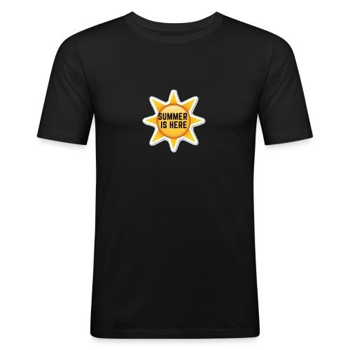 Official Summer Is Here Branded Merchandise! - Men's Slim Fit T-Shirt