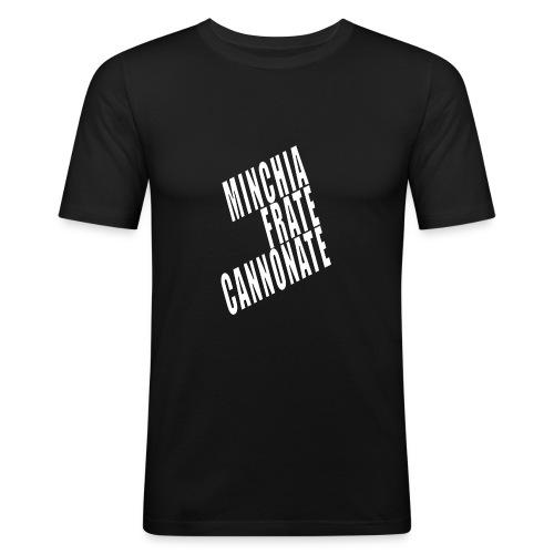Cannonate - Maglietta aderente da uomo