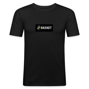 AIK basket - Slim Fit T-shirt herr