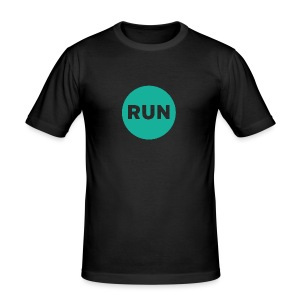 Run - Männer Slim Fit T-Shirt