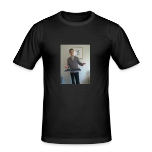 LUKEY MAGIC MERCH - Men's Slim Fit T-Shirt