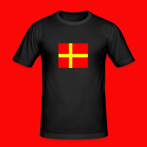 skanes flagga - Slim Fit T-shirt herr